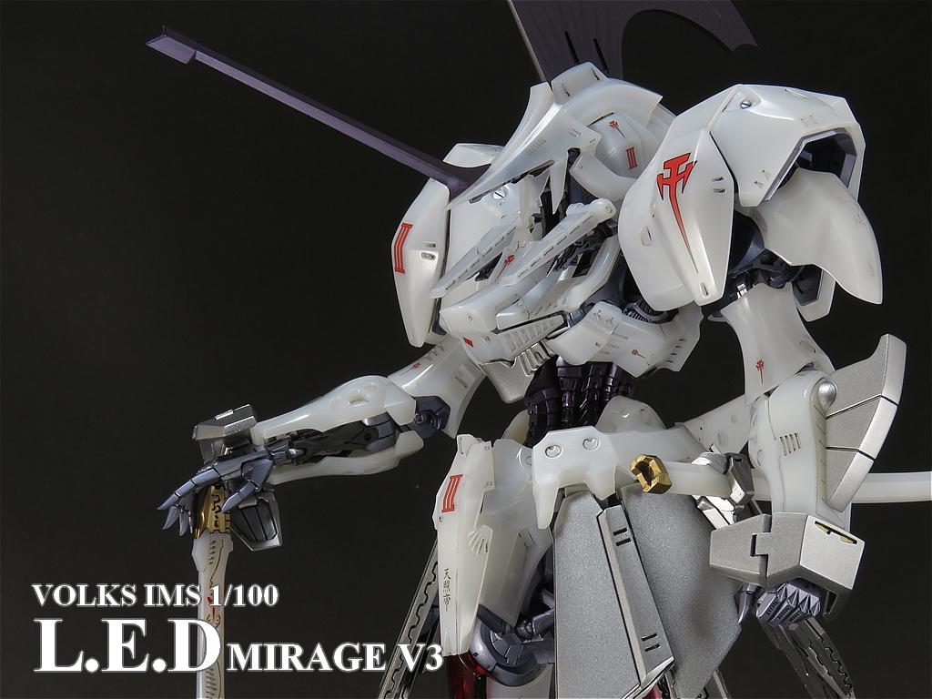 IMS 1/100 L.E.D.ミラージュV3